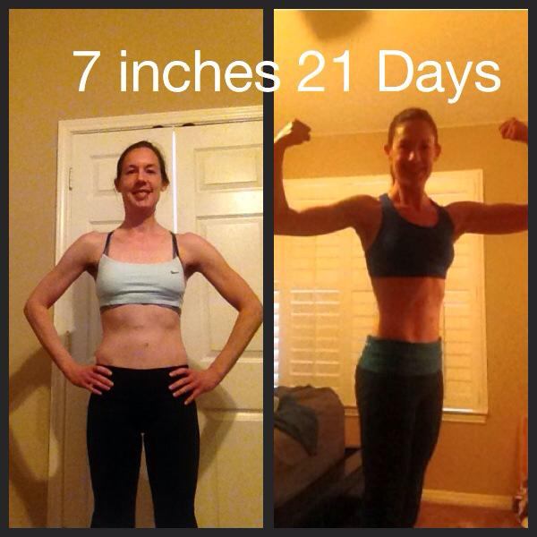 Carrie 21 Day Fix Alpha result