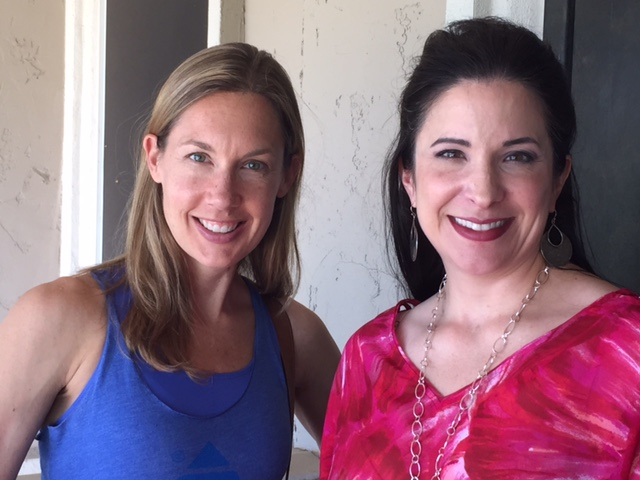 Carrie Harper and Dr. Aline Sholar