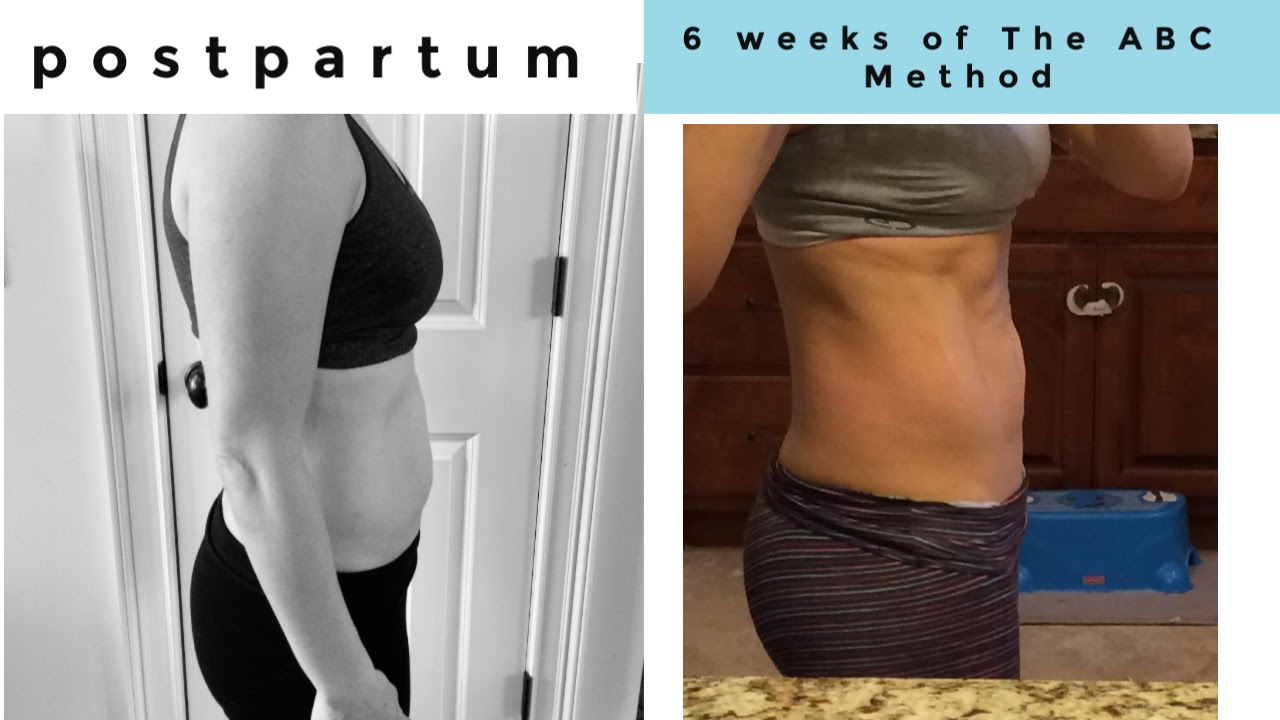 The ABC Method by CarrieFit results Diastasis Recti