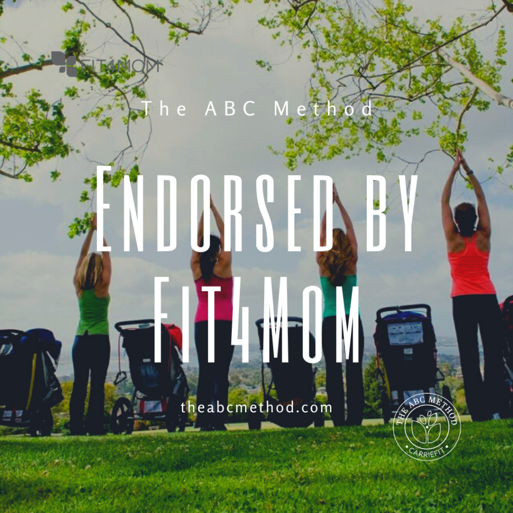 The ABC Method endorsed by Fit4Mom